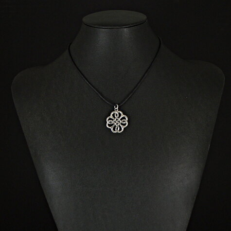 Celtic pewter love knot